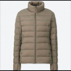 Uniqlo Ultra Light Down Jacket Beige S Small